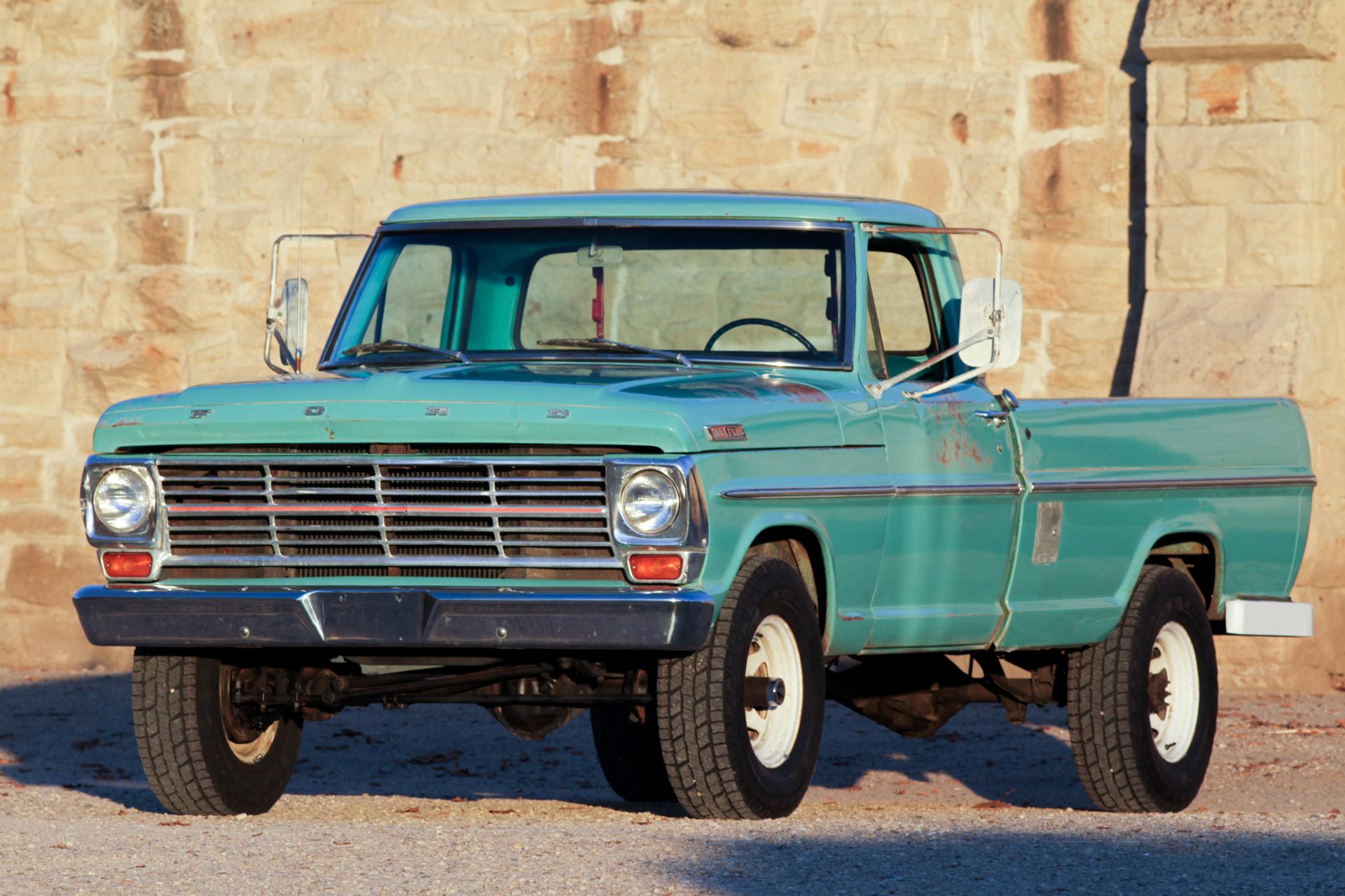 1967 Ford F100 4x4 | Modern Classic Auto Sales  1967 Ford F100 ...