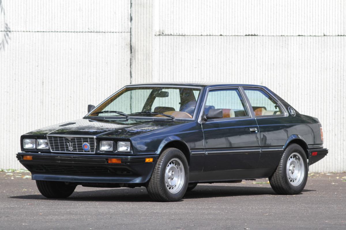 1984 Maserati Biturbo   Modern Classic Auto Sales